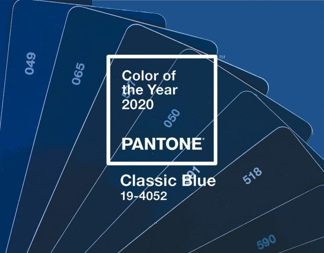 Couleur de l'année sélectionnée par le Pantone Color Institute.